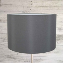Charcoal Table Lamp Shade